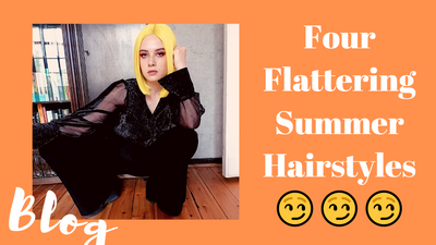 Four Flattering Summer Hairstyles