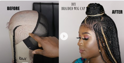 How To: DIY A Braided Wig for Beginners.No closure braided wig