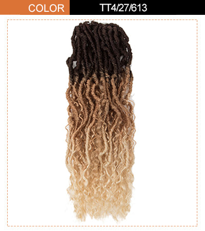 pre-looped passion twist hair extensions blonde