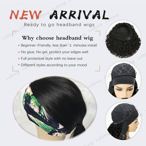 why choose headband wigs