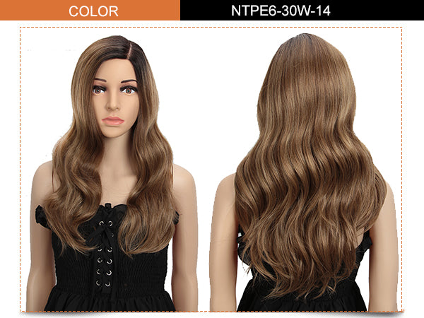 6.5*4.5 Mono Lace Wig | 22 Inch Natural Wavy | Elin by Noble