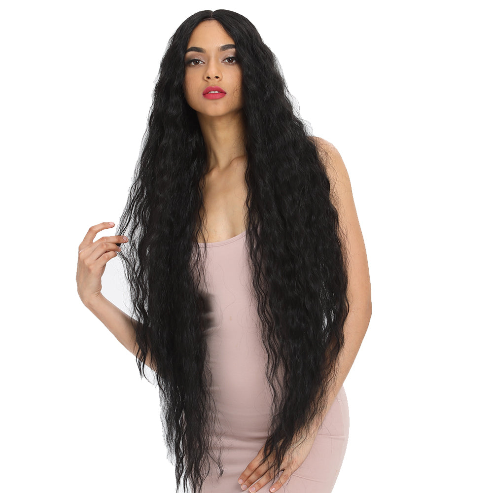 Bohemian丨Synthetic HD Lace Front Wigs丨41 Inch Super Long Wavy Wig by Noble