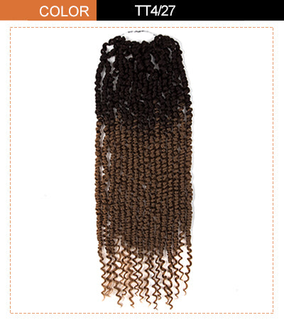 foxy twist hair extension pmbre brown