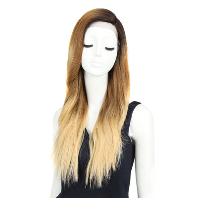 Nib |Synthetic Lace Front Long Wave Wig(Side Part) | 27 Inch | GT4-27Q-86E - Noblehair