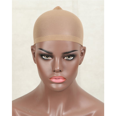Noble Wig Caps | Stretchy Nylon Wig Caps Stocking Caps For Wigs | Wig Caps For Women Light Brown Color - Noblehair