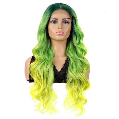 NOBLE Easy 360 Synthetic HD Lace Frontal Wigs For Women| 29 Inch Loose Wave | Lemon Arika - Noblehair