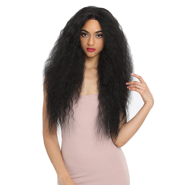 Beyonce丨13*4 Synthetic Lace Frontal Wigs | 30 Inch Curly Wave Wig