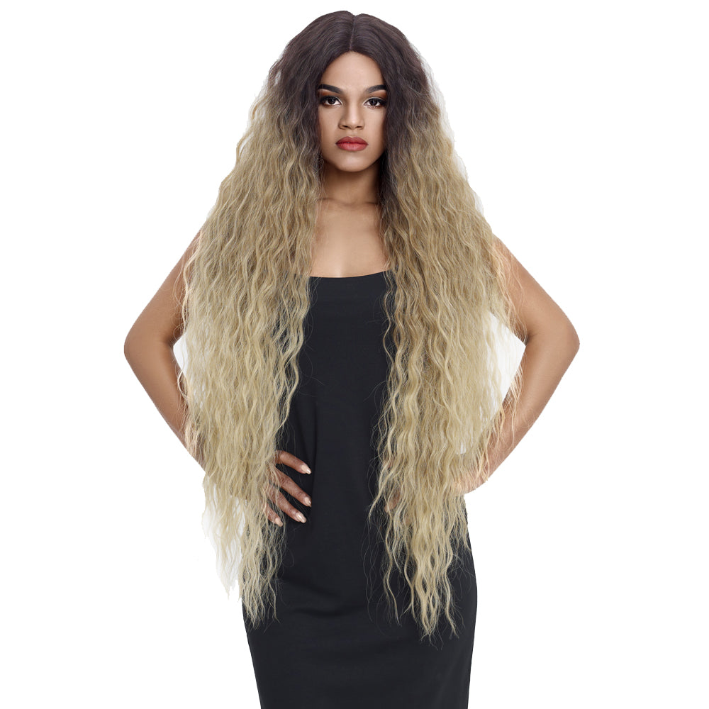 Bohemian丨Synthetic Lace Front Wigs丨41 Inch Super Long Wavy Wig by Noble