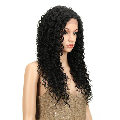 Olivia丨Synthetic Lace Wig (Part Lace)26 Inch丨1B - Noblehair