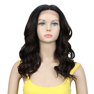 Vanessa | Synthetic Lace Front Wavy Wig (Middle Part) | 18 Inch  |TTFV1B-433F - Noblehair