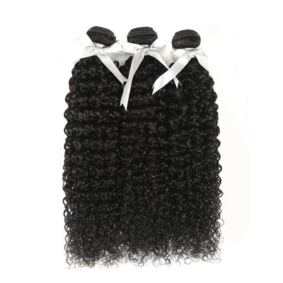 Noble X Real Hair Extensions | Protein Hair Bundles Kinky Curly | Similar with Human Hair - Noblehair