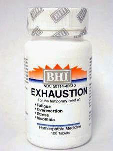 Exhaustion 100 tabs