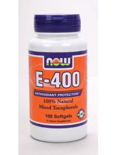 E-400 (Mixed Tocopherols) 100 softgels