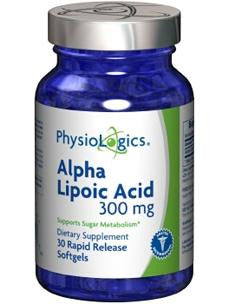 Alpha Lipoic Acid 300 mg 30 softgels