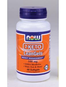 7-KETO LeanGels 100 mg 60 softgels