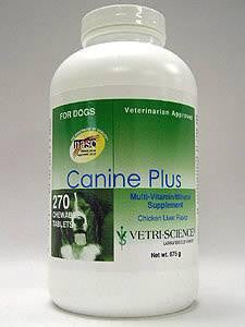 Canine Plus Chicken Liver Flavor 270chew