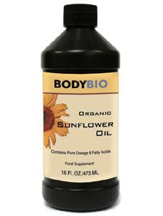 Organic Sunflower Oil 16 oz