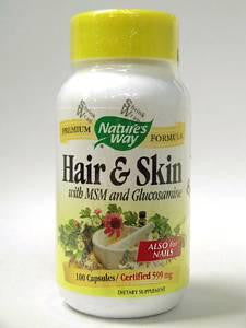 Hair & Skin Formula 599 mg 100 caps