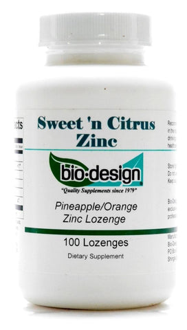 Sweet`n Citrus Zinc 7 mg 100 loz