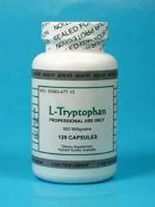 L Tryptophan 500 mg 120 vcaps