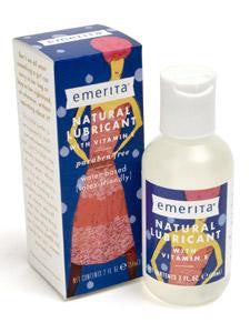 Natural Lubricant with Vitamin E 2 oz