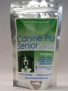 Canine Plus Senior Soft Chews 60 chew