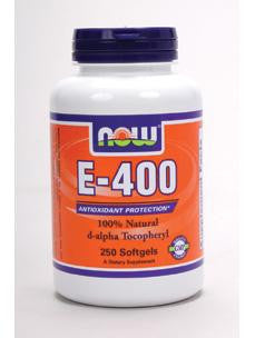 E-400 250 softgels