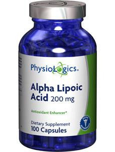 Alpha Lipoic Acid 200 mg 100 caps