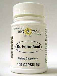 B6-Folic Acid 100 caps