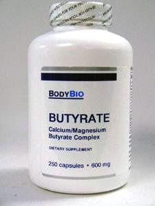 Butyrate 600 mg 250 caps