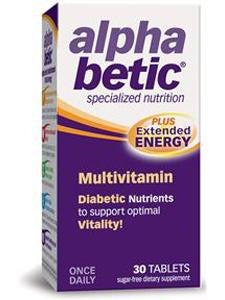 Alpha Betic Multi-Vitamin 30 tabs