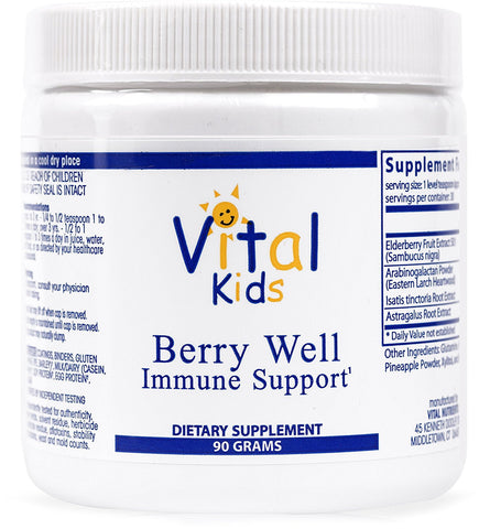 Berry Well Immune Support - Supports and Maintains Healthy Immune System Function - 90 Grams
