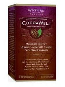 CocoaWell CoQ10 Advanced Formula 60vcaps
