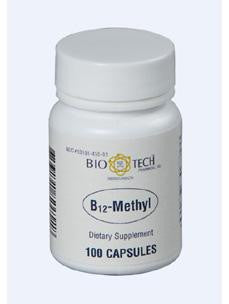 B12-Methyl 1000 mcg 100 caps