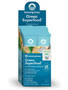 Alkalize & Detox Green Superfood 15 pkts