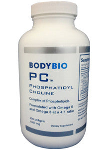 BodyBio PC 300 softgels