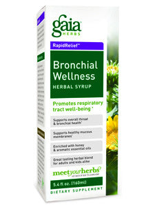 Bronchial Wellness Herbal Syrup 5.4 oz