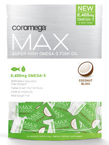 Max Super High Omega-3 Coconut 60 shots