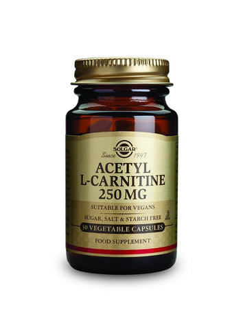 Acetyl L-Carnitine 250 mg 30