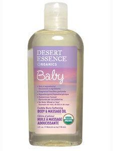 Baby Body & Massage Oil 4 oz