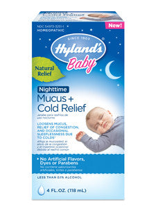Baby Nighttime Mucus & Cold Relief 4 fl