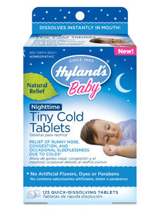 Baby Nighttime Tiny Cold Tab 125 tabs