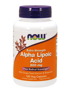 Alpha Lipoic Acid 120 mg 60 vcaps
