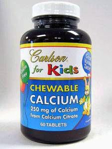 Chewable Calcium 250 mg 60 tabs