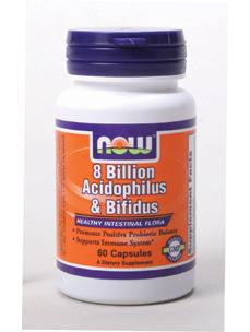8 Billion Acidophilus & Bifidus 60 vcaps