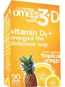 Coromega Tropical Orange + D 90 pkts