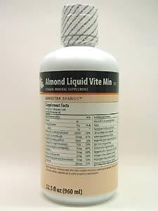 Almond Liquid Vite Min 32.5 oz