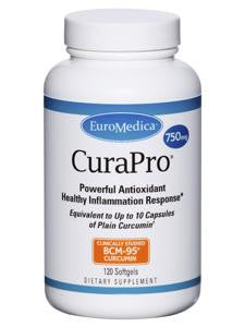 CuraPro 750 mg 120 softgels