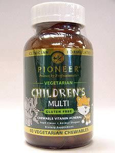 Children's Multi-Vitamin 60 Veg Chews