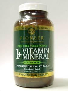 1+ Vitamin Mineral iron-free 120 vtabs